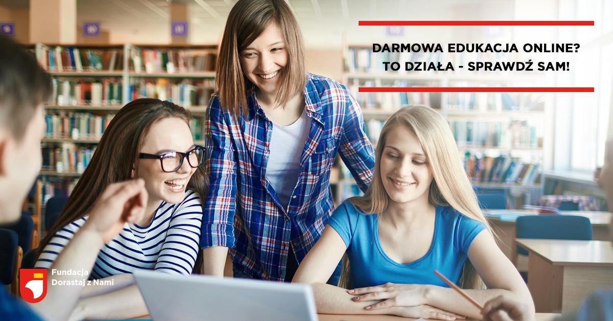 Darmowa edukacja online – praca i rozwój