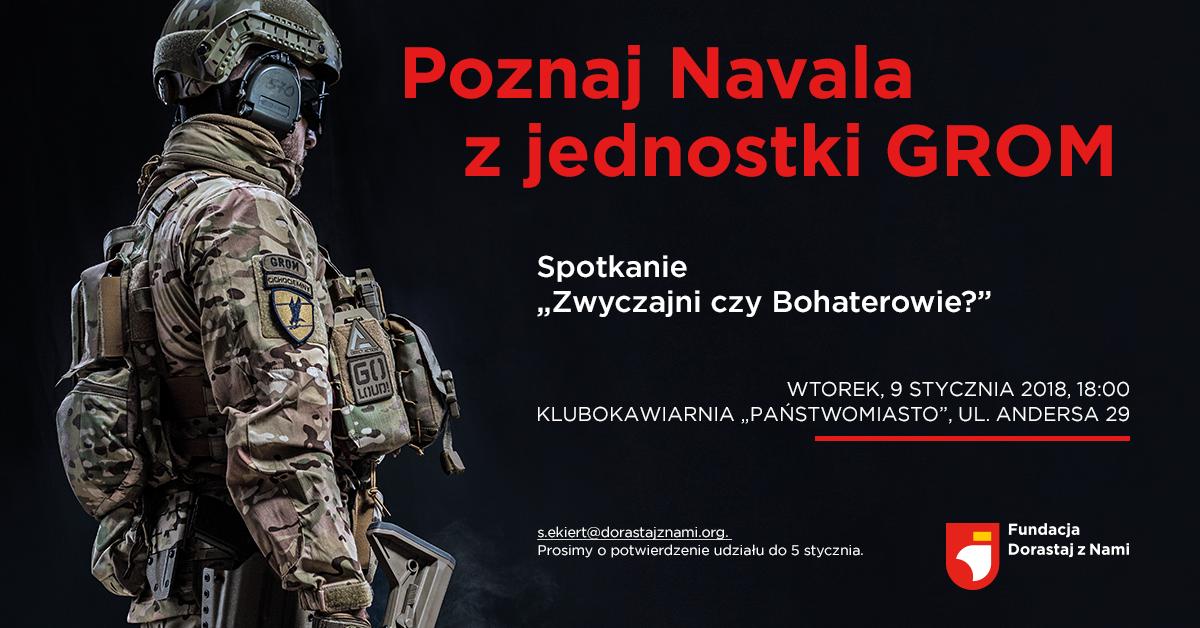 Spotkanie z Navalem – żołnierzem GROM